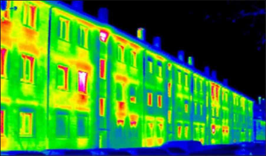 як організувати бізнес по обстеженню будинків тепловізором