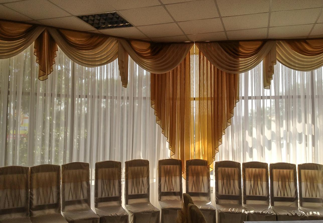Салон или цех для пошива штор