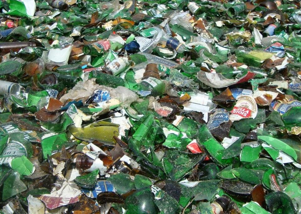 бізнес-ідея по переробці склобою