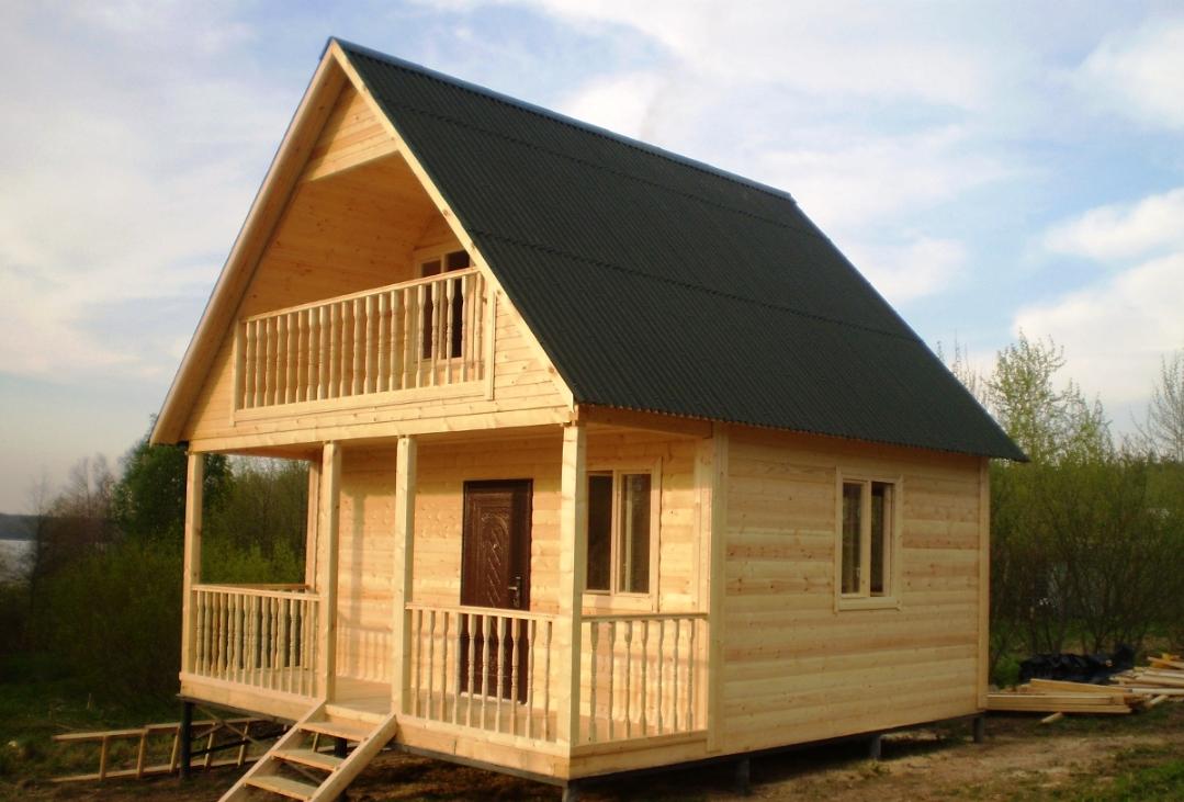 Бизнес-идея возведения дачных домов