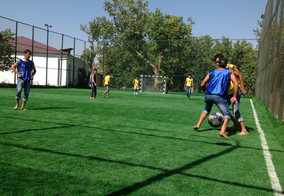 бизнес-идея открытия мини-футбольного поля