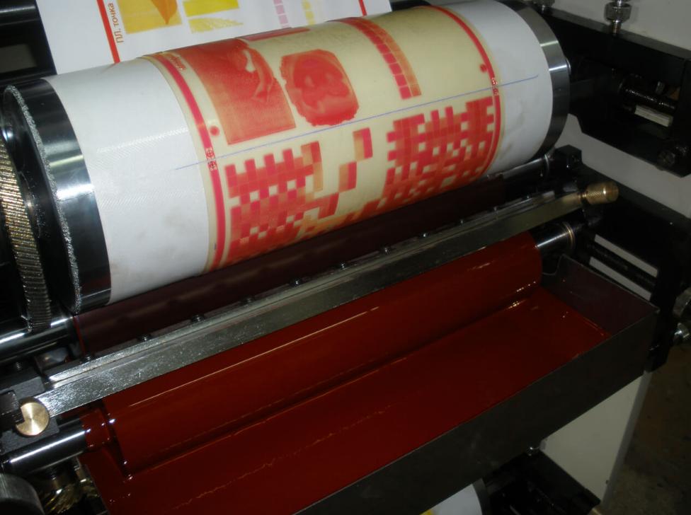 Как организовать бизнес на флексографической печати