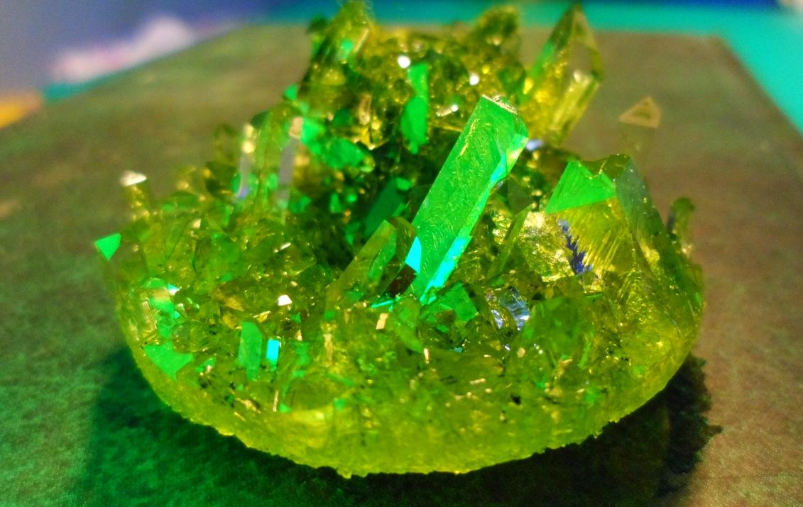 Красивые кристаллы в домашних условиях