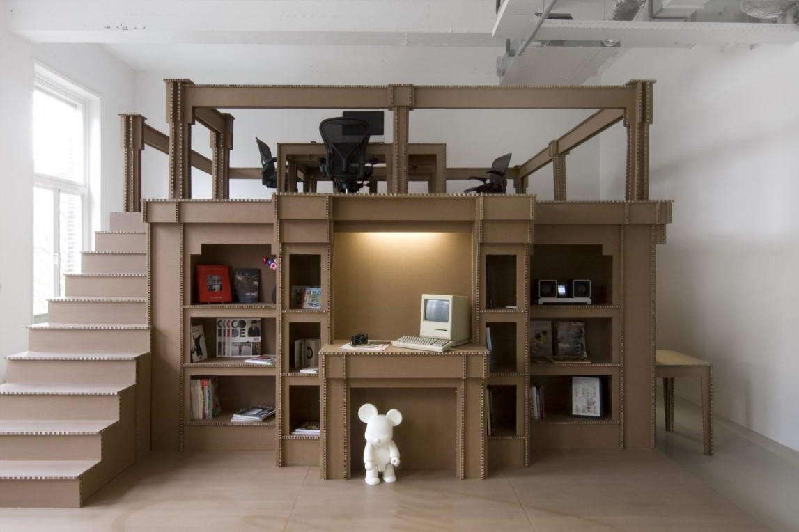 Бизнес-идея изготовления мебели из картона