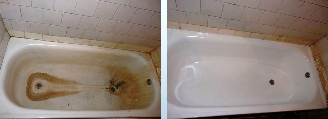 бизнес-идея реставрации чугунных и акриловых ванн