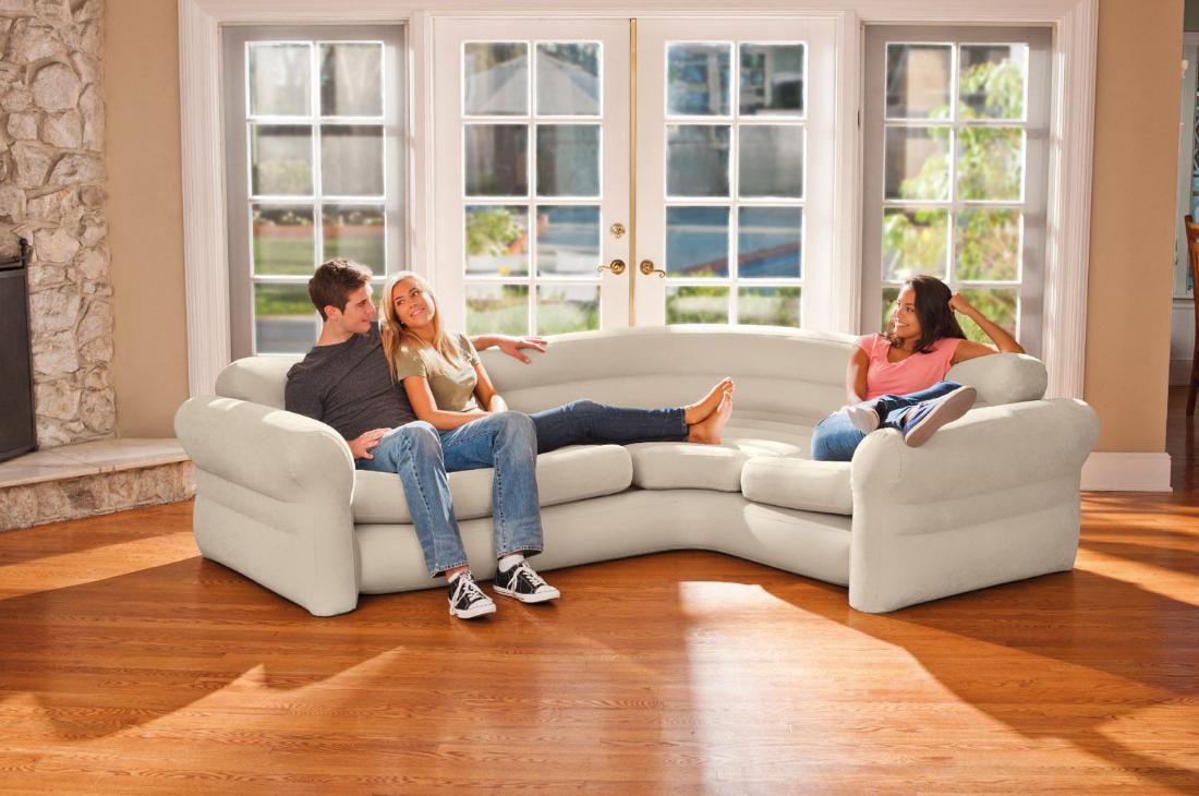 Бизнес на продаже надувной мебели
