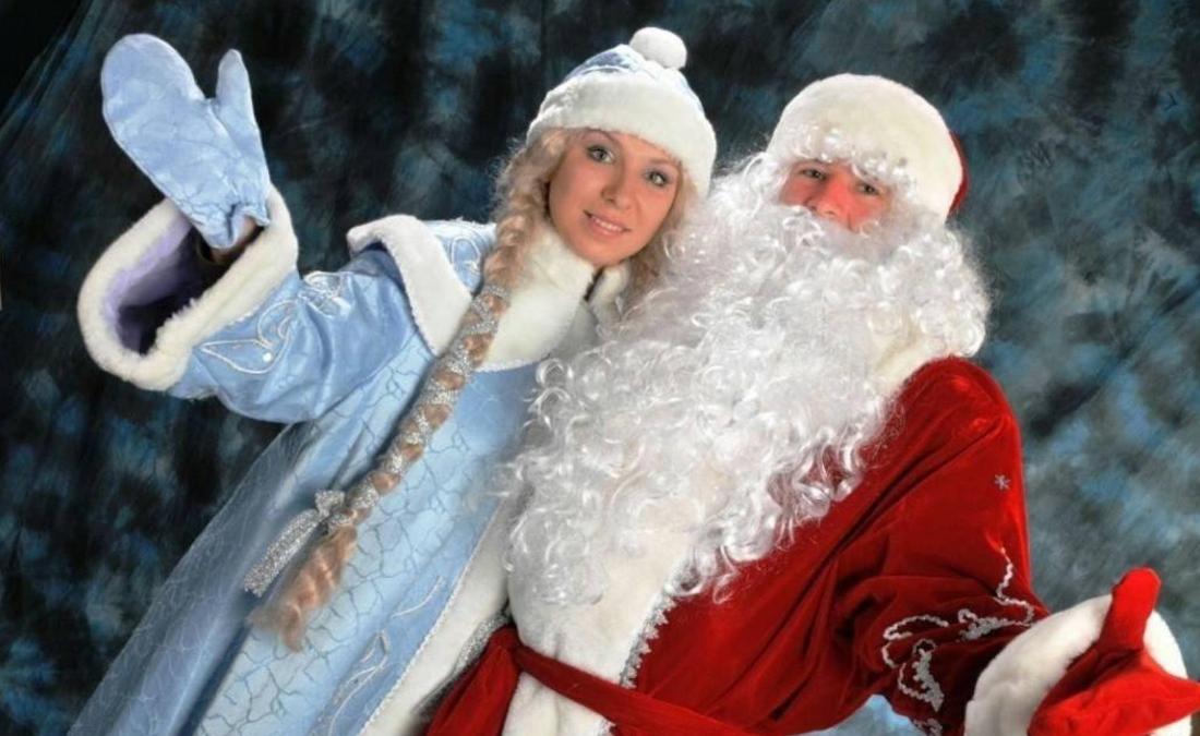 новорічна бізнес ідея виклик додому Діда Мороза і Снігуроньки