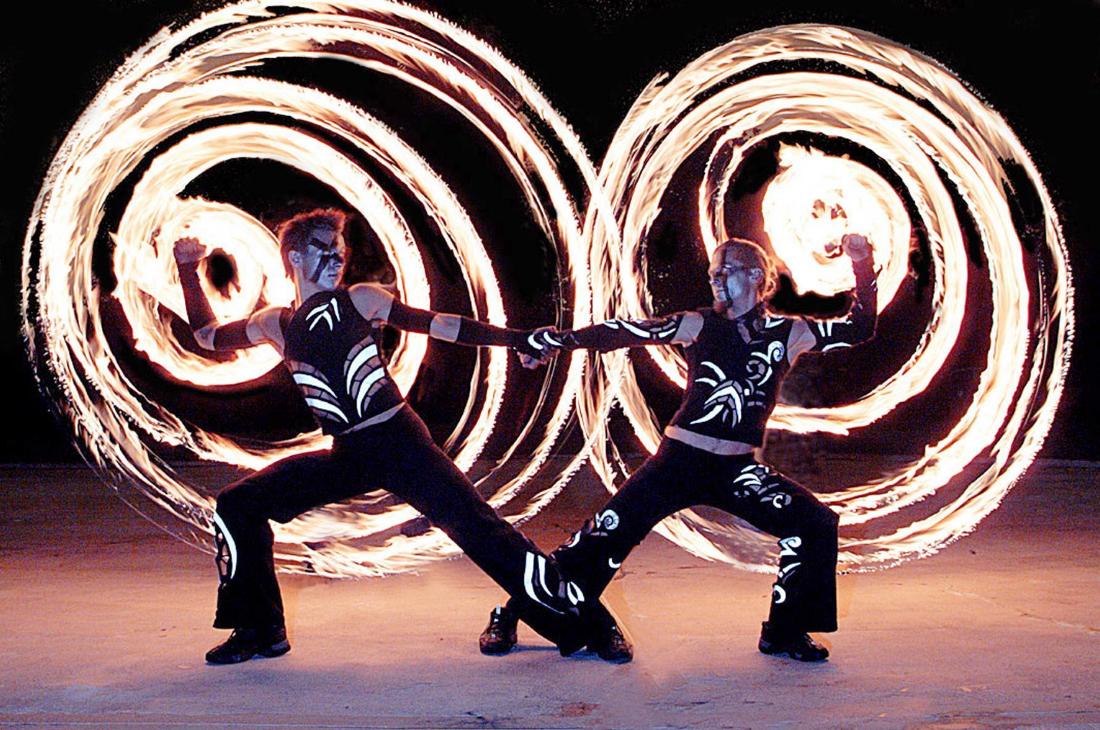 бізнес-ідея проведення вогненних шоу