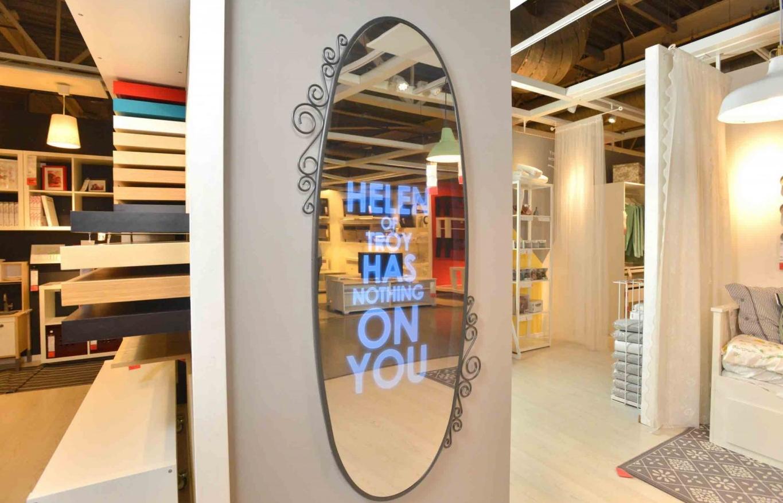 бизнес-идея изготовления рекламных зеркал
