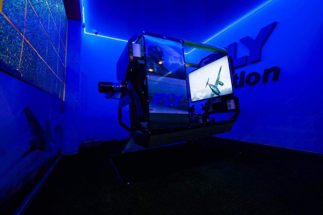 Бизнес-идея аттракциона воздушных боев FLY-Motion