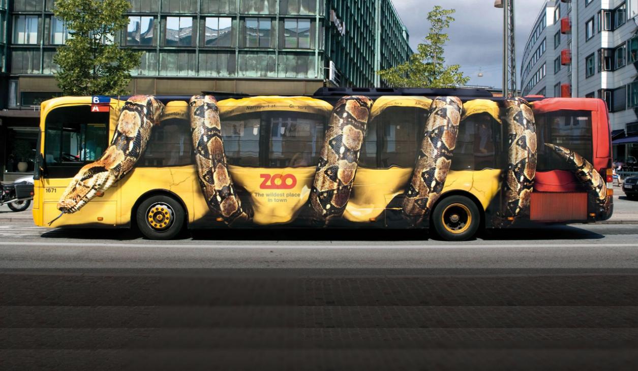 бізнес-ідея неординарної реклами на автотранспорті
