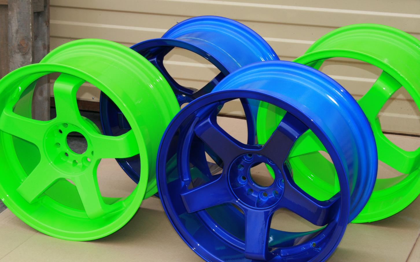 бізнес-ідея фарбування автомобільних дисків