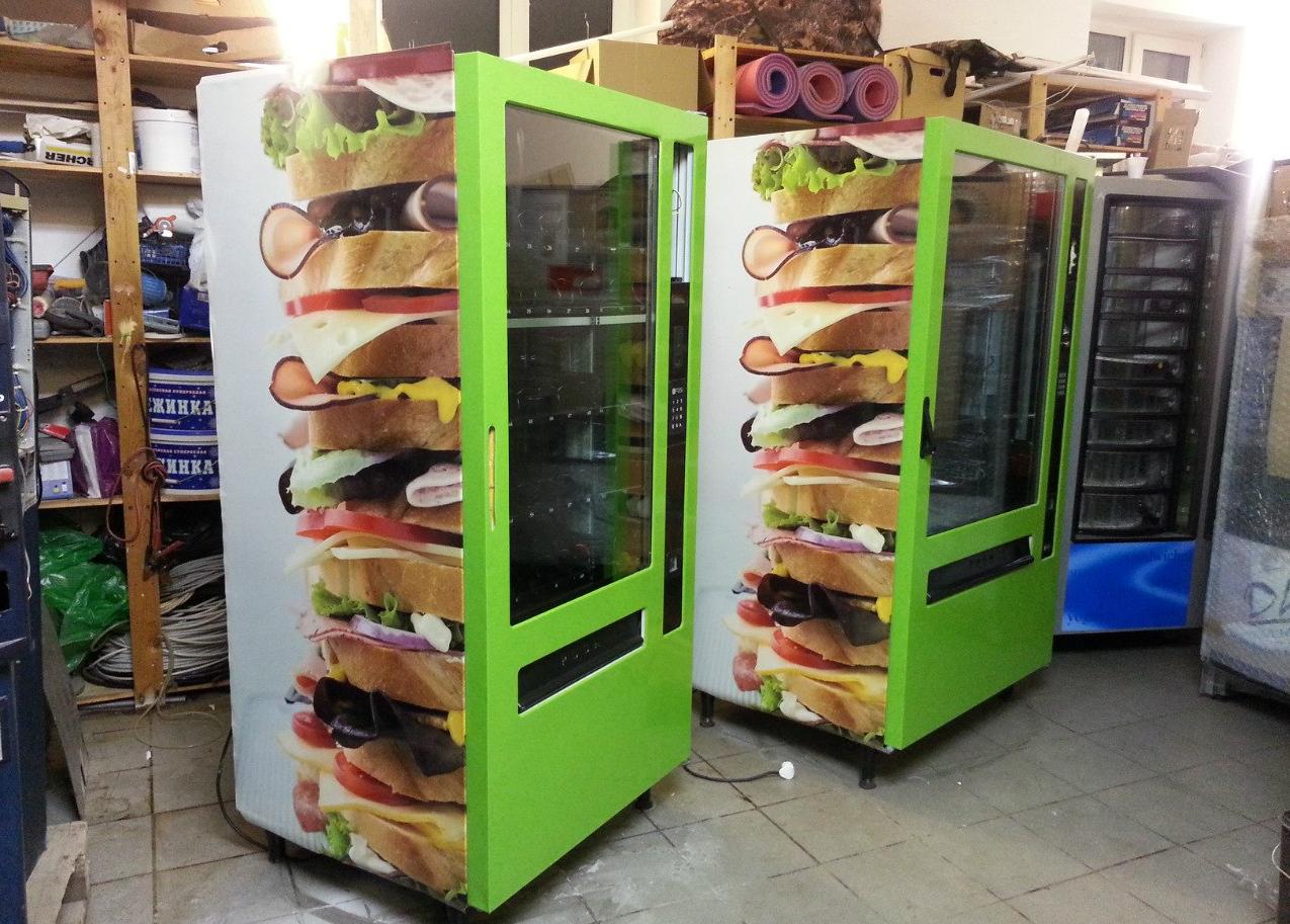 бізнес-ідея установки і обслуговування снекових автоматів