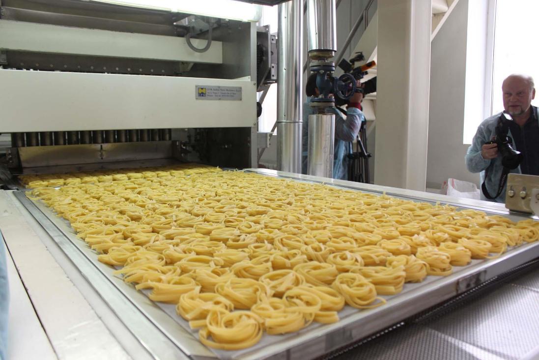 як організувати бізнес з виробництва макаронів