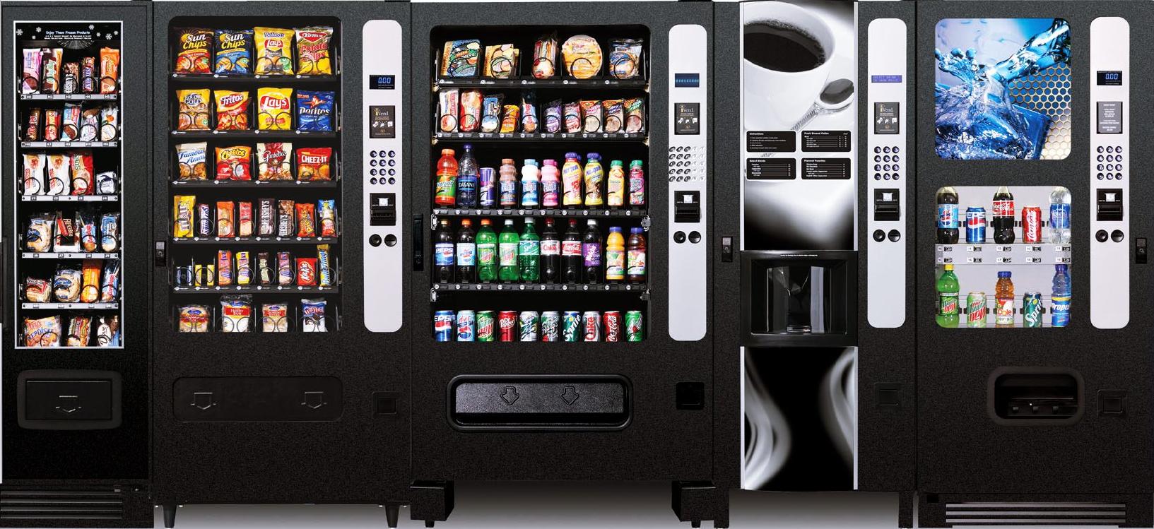 як організувати бізнес по установці і обслуговуванню снекових автоматів