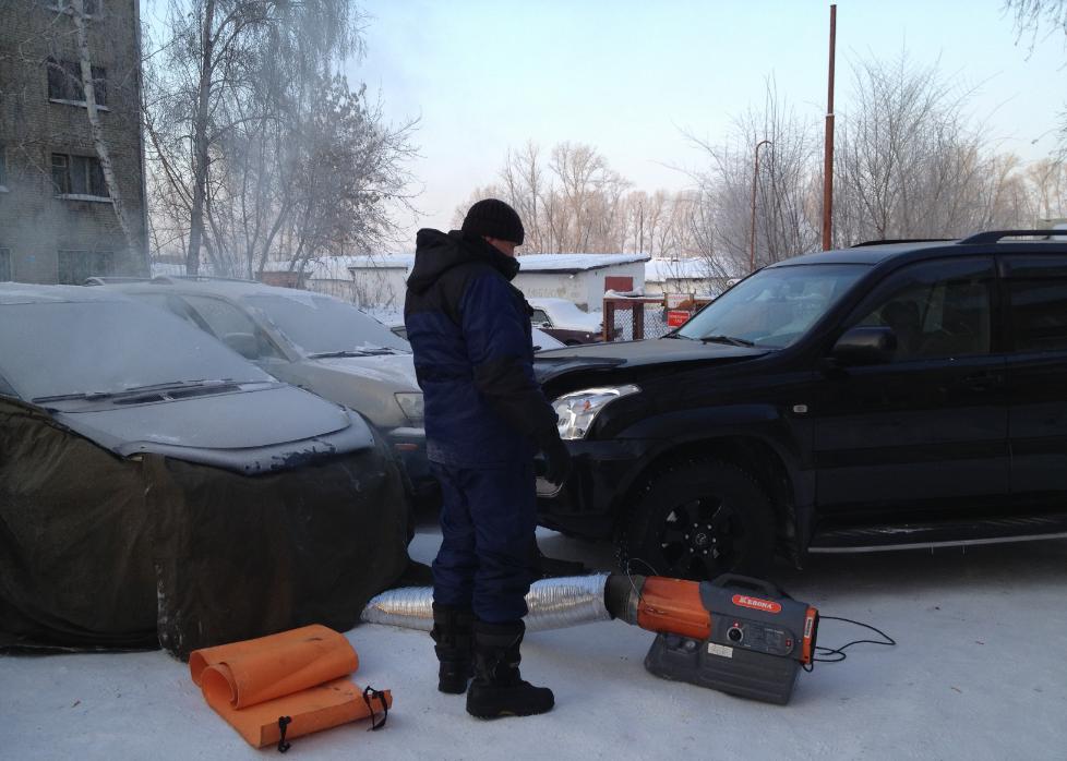 Бизнес-идея отогрева автомобилей зимой