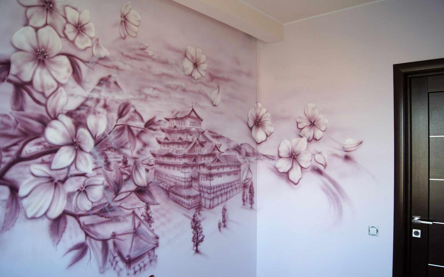 Бизнес-идея на художественной росписи стен