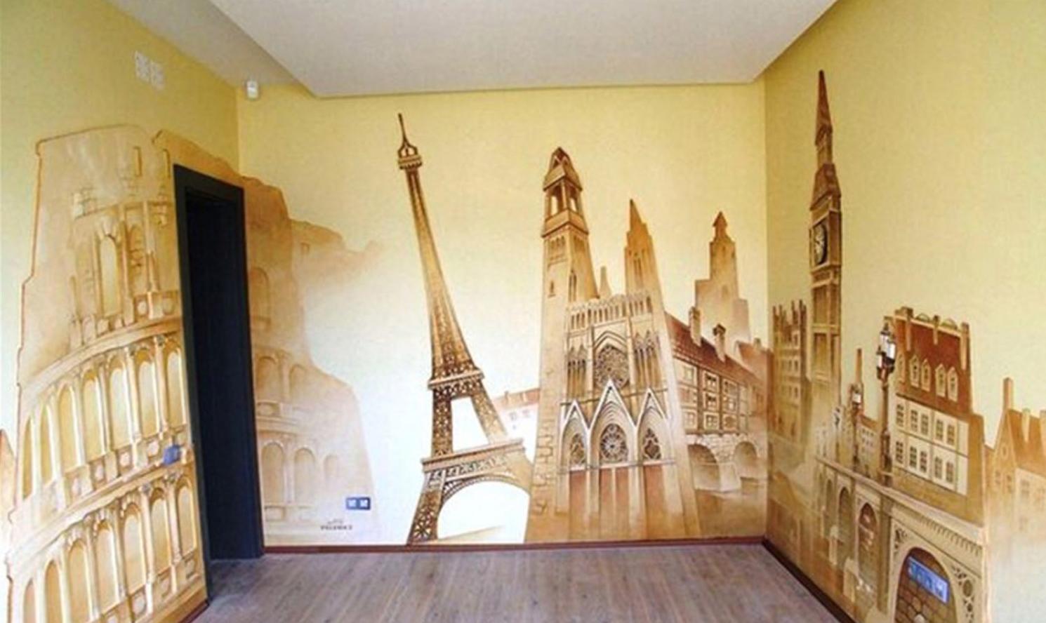 Как организовать бизнес на художественной росписи стен