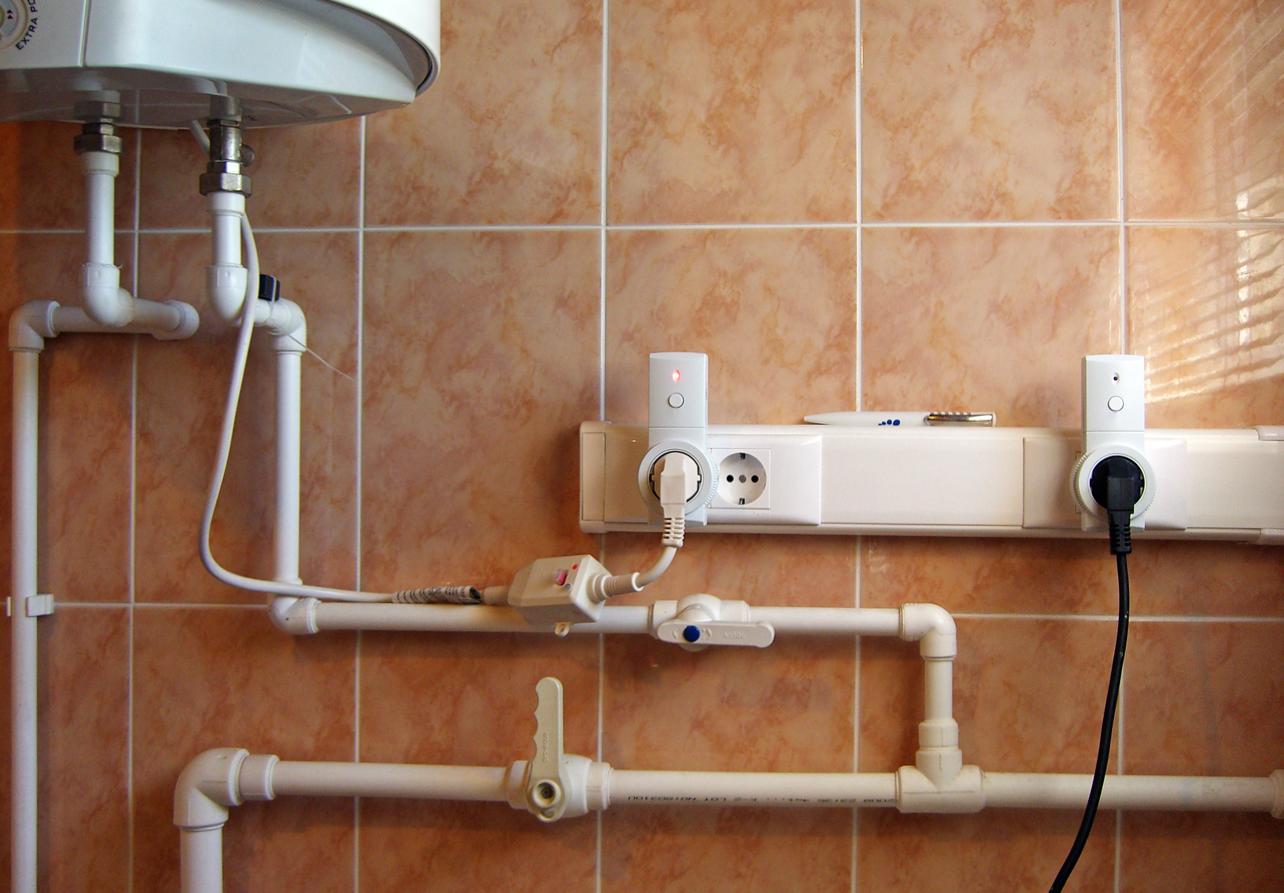 как монтировать водонагреватели