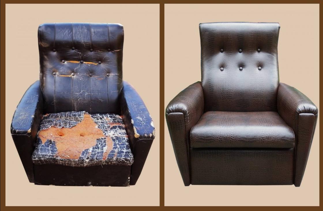 Бизнес на услугах перетяжки мебели