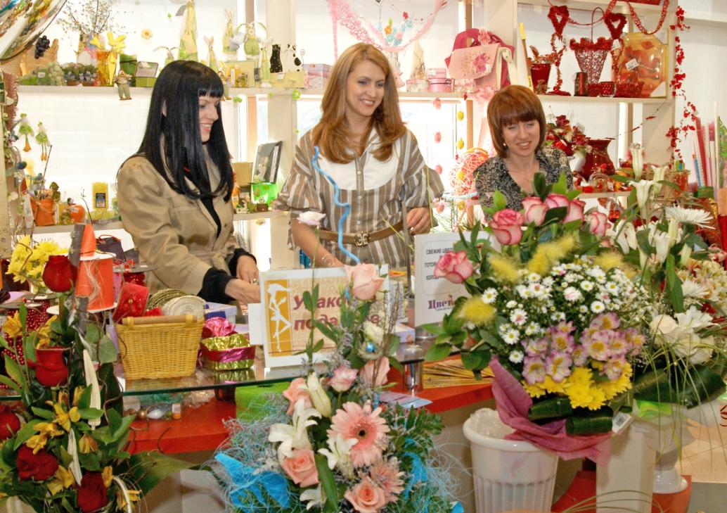 как организовать бизнес по продаже цветов