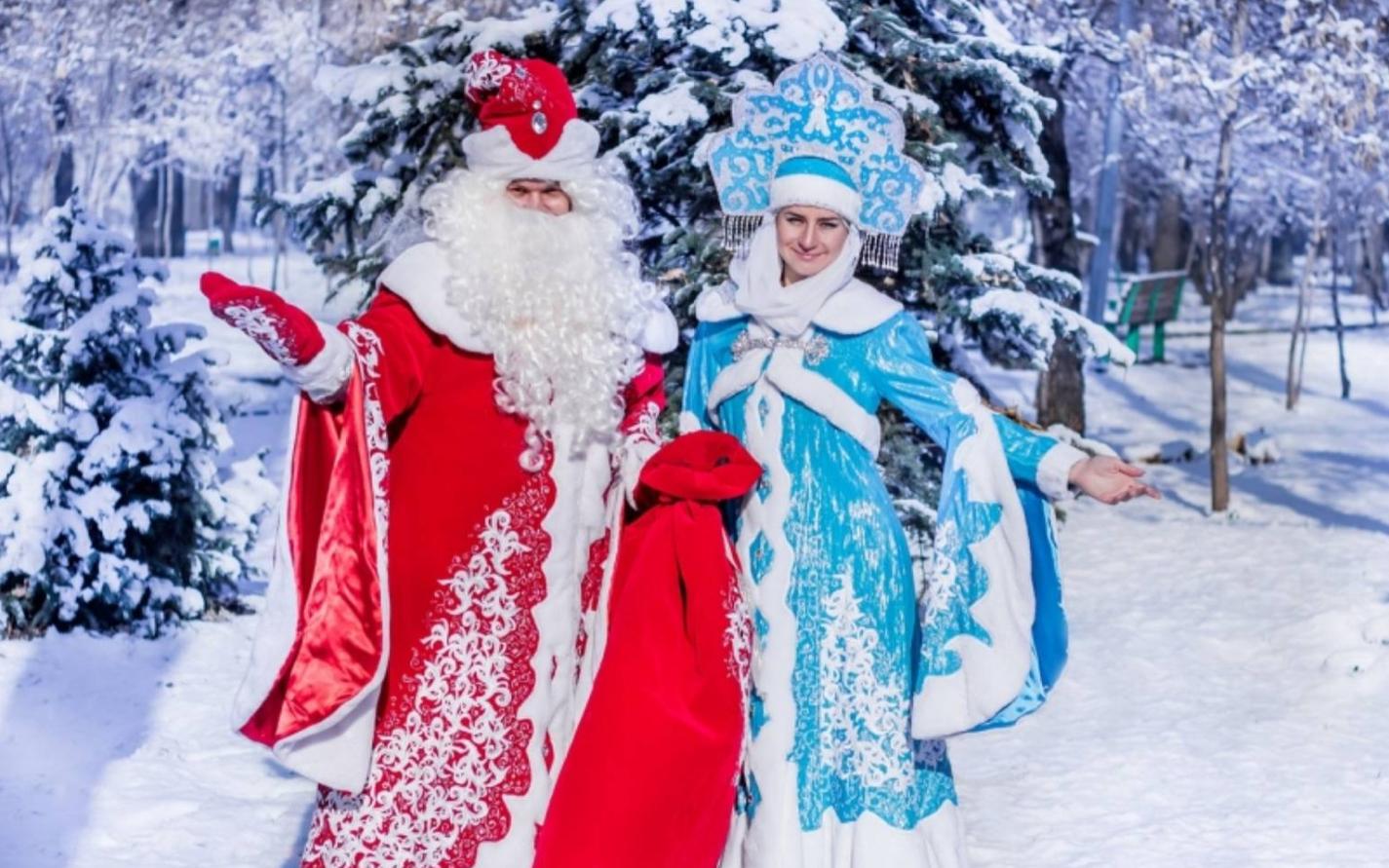 Бизнес-идея Дед Мороз и Снегурочка на дом