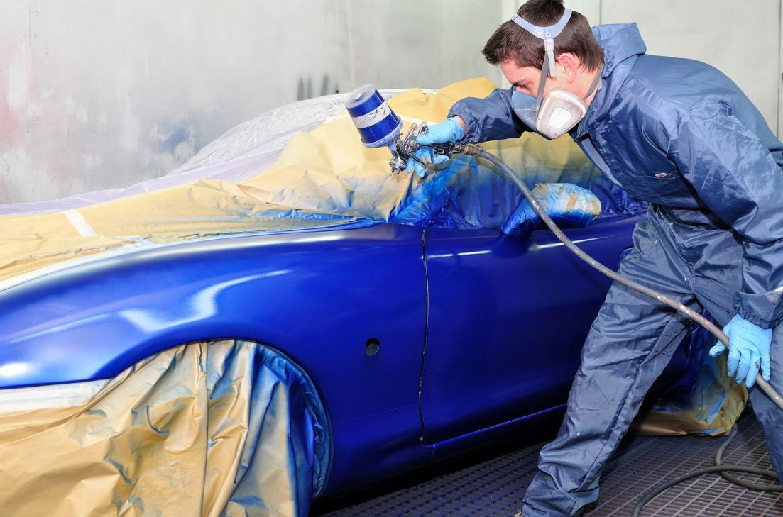 бизнес-идея открытия сервиса по покраске автомобилей