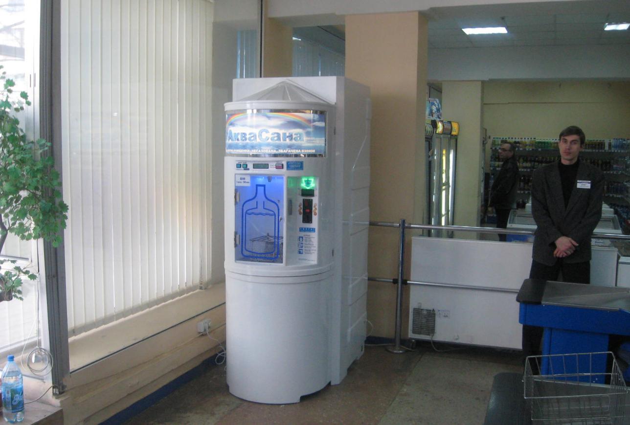 Бизнес-идея установки автоматов по продаже воды