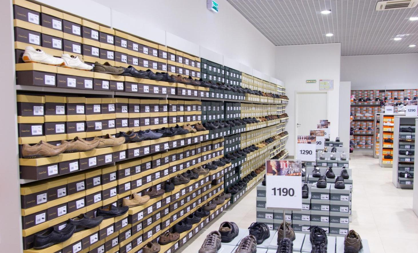 Открытие торговой точки продажи обуви
