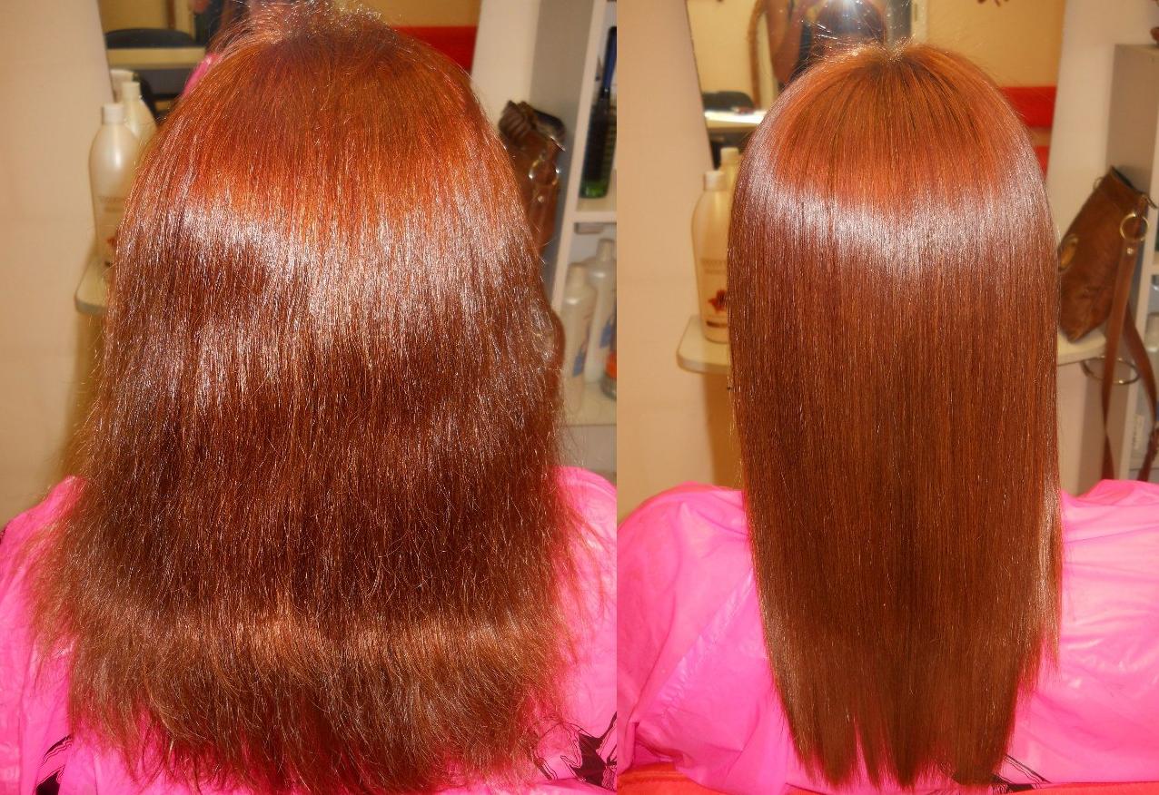 Бизнес-идея кератинового выпрямления волос