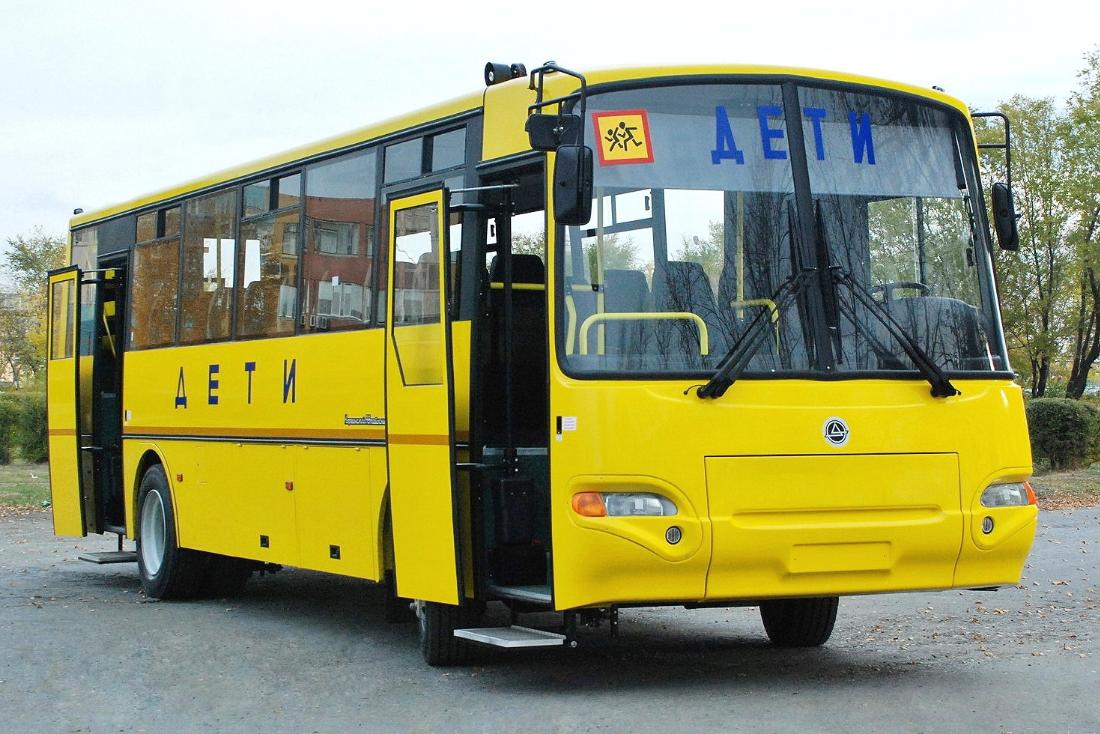 Автобус: из дома в школу