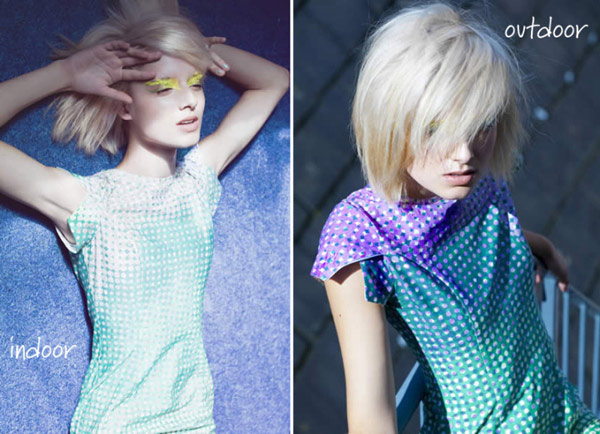 Одежда, которая самостоятельно меняет цвет