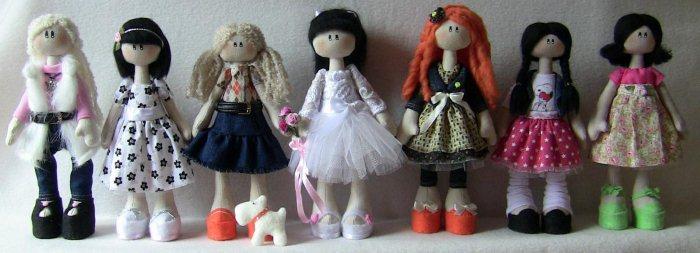 куклы-Снежки