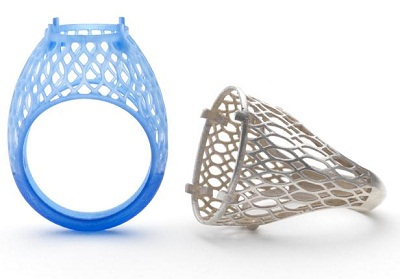 Бизнес-идея печати ювелирных украшений на 3D принтере