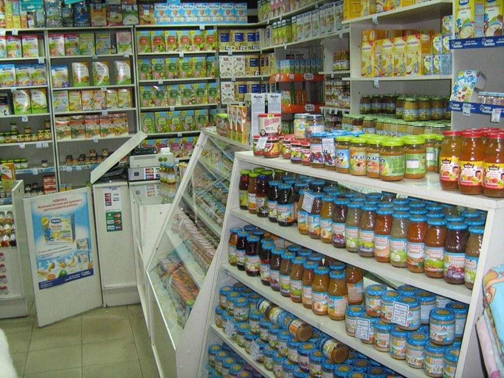 Пример бизнес-плана магазина детского питания
