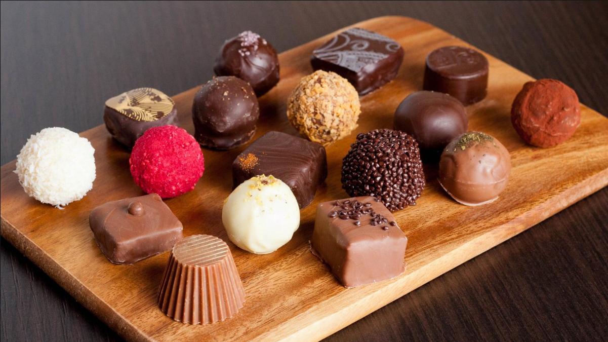 Шоколадные конфеты своими руками рецепты фото 737