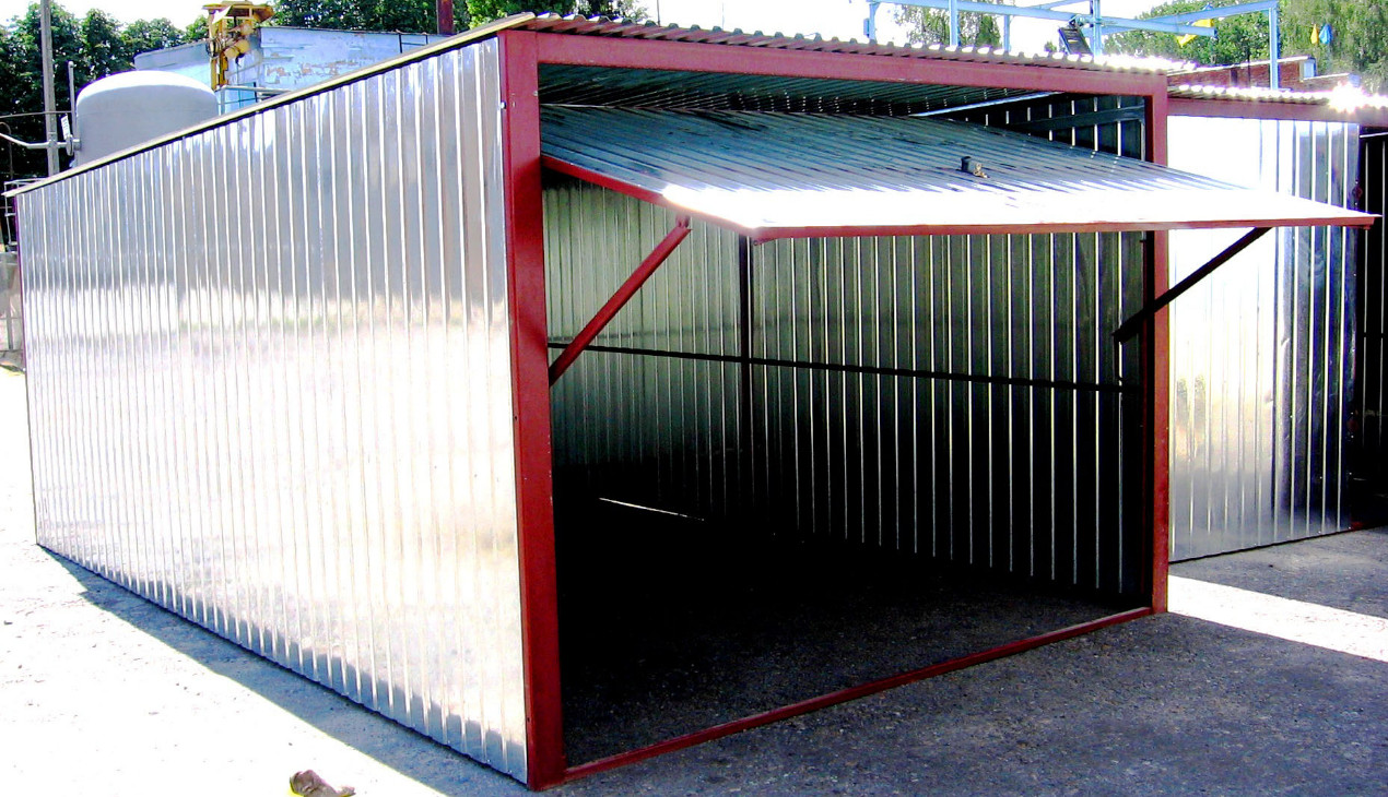Бизнес-идея производства гаражей-пеналов
