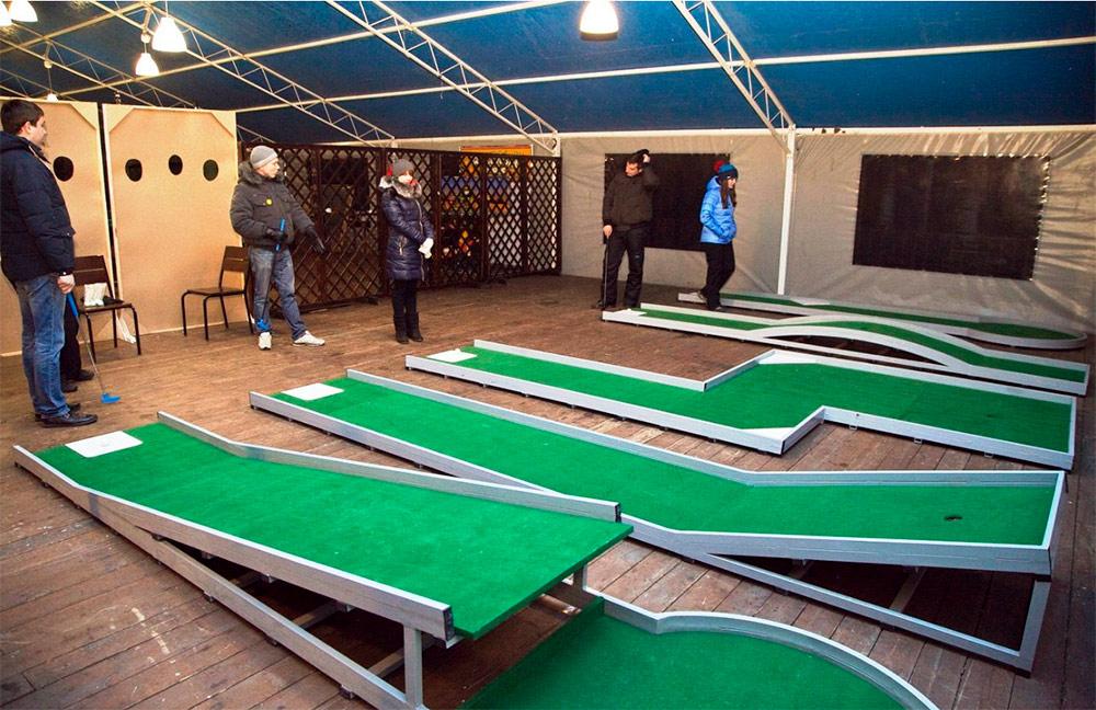 Бизнес идея открытие мини гольф площадки