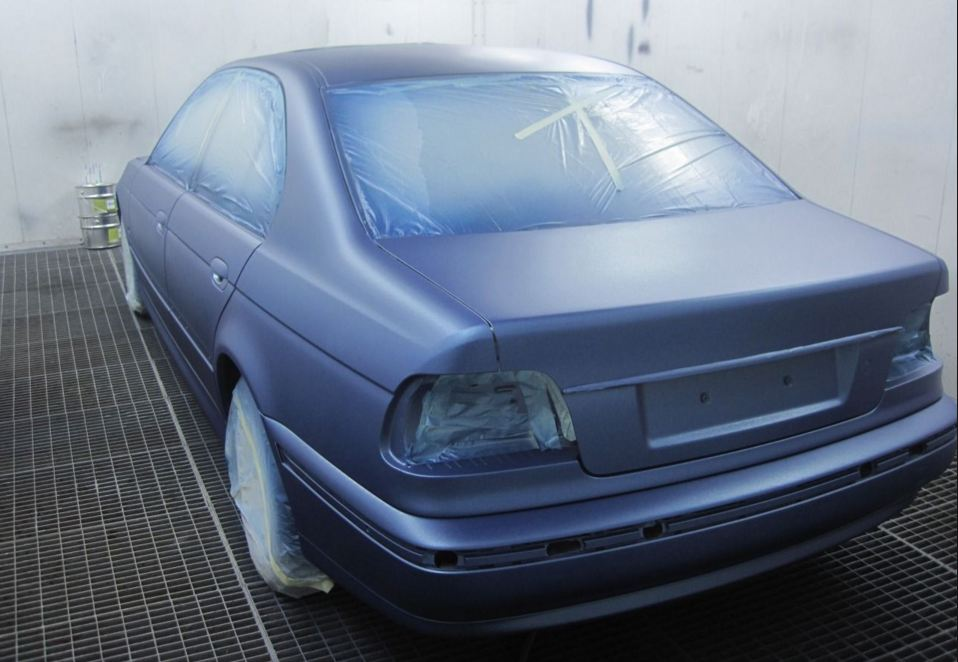 Бизнес-идея покраски авто полимерным композитом