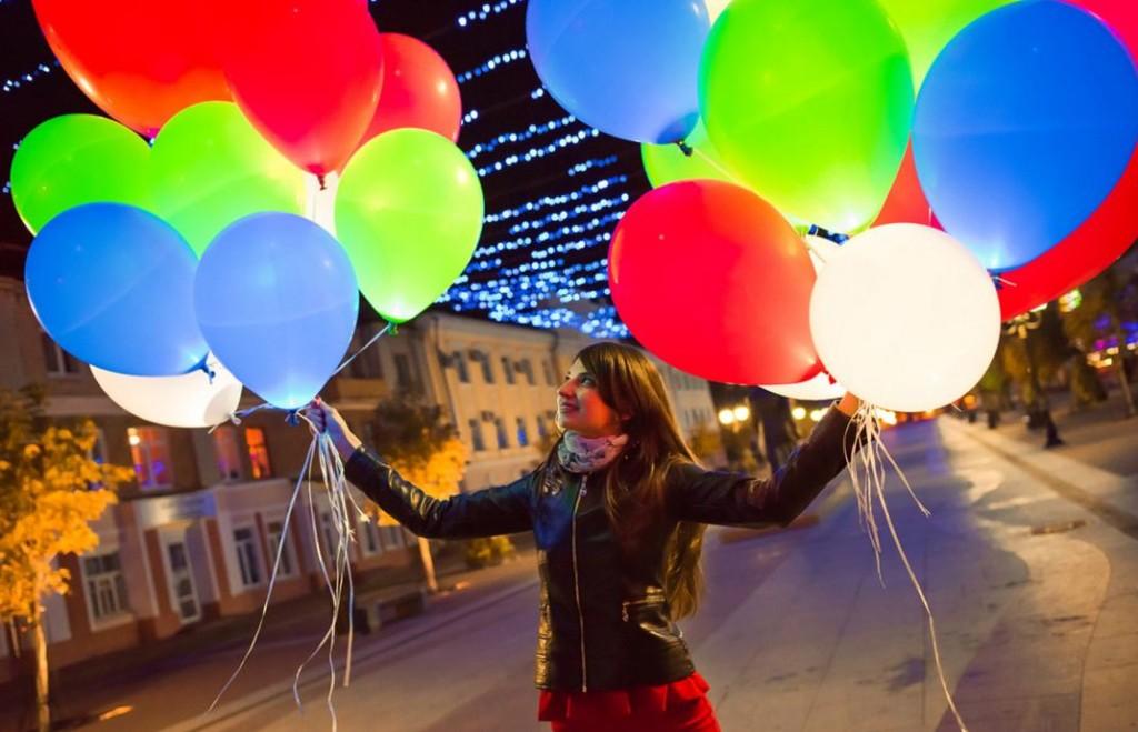 Бизнес-идея продажи светящихся воздушных шаров