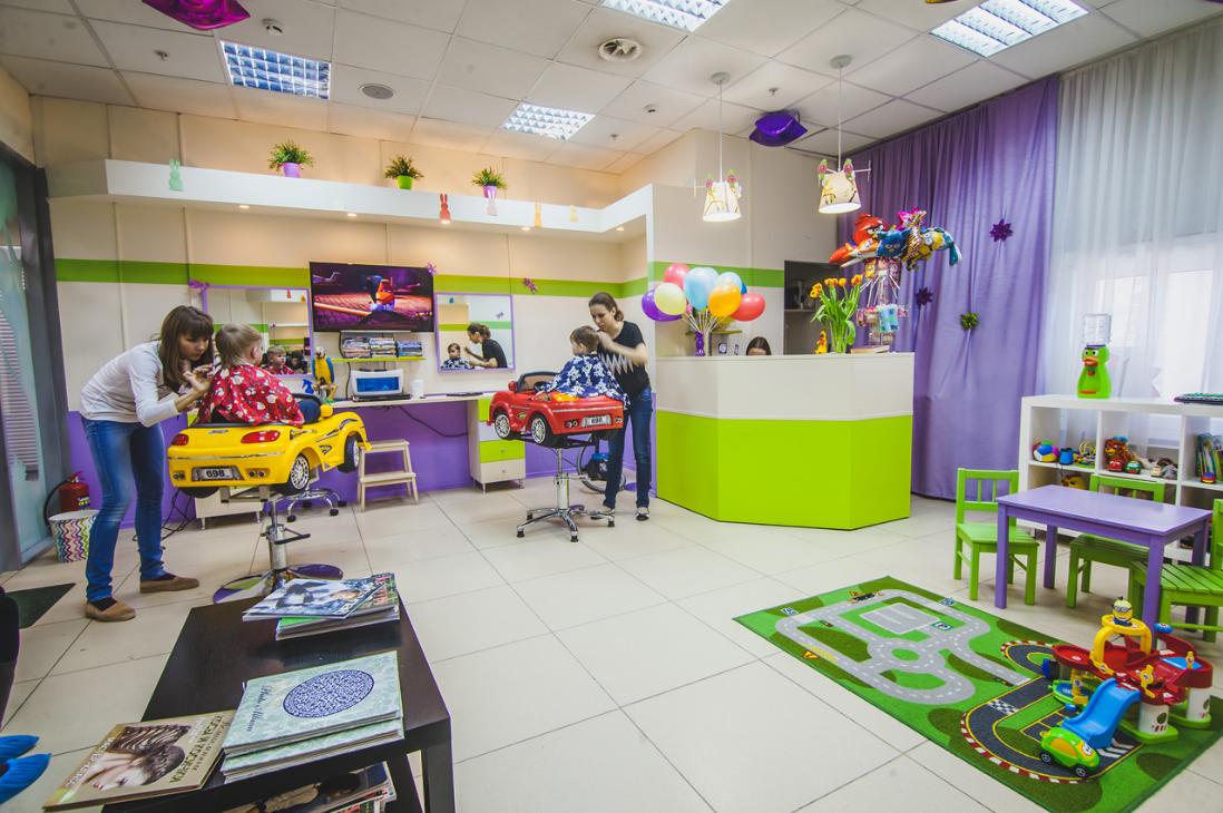 Бизнес-идея открытия детского салона красоты