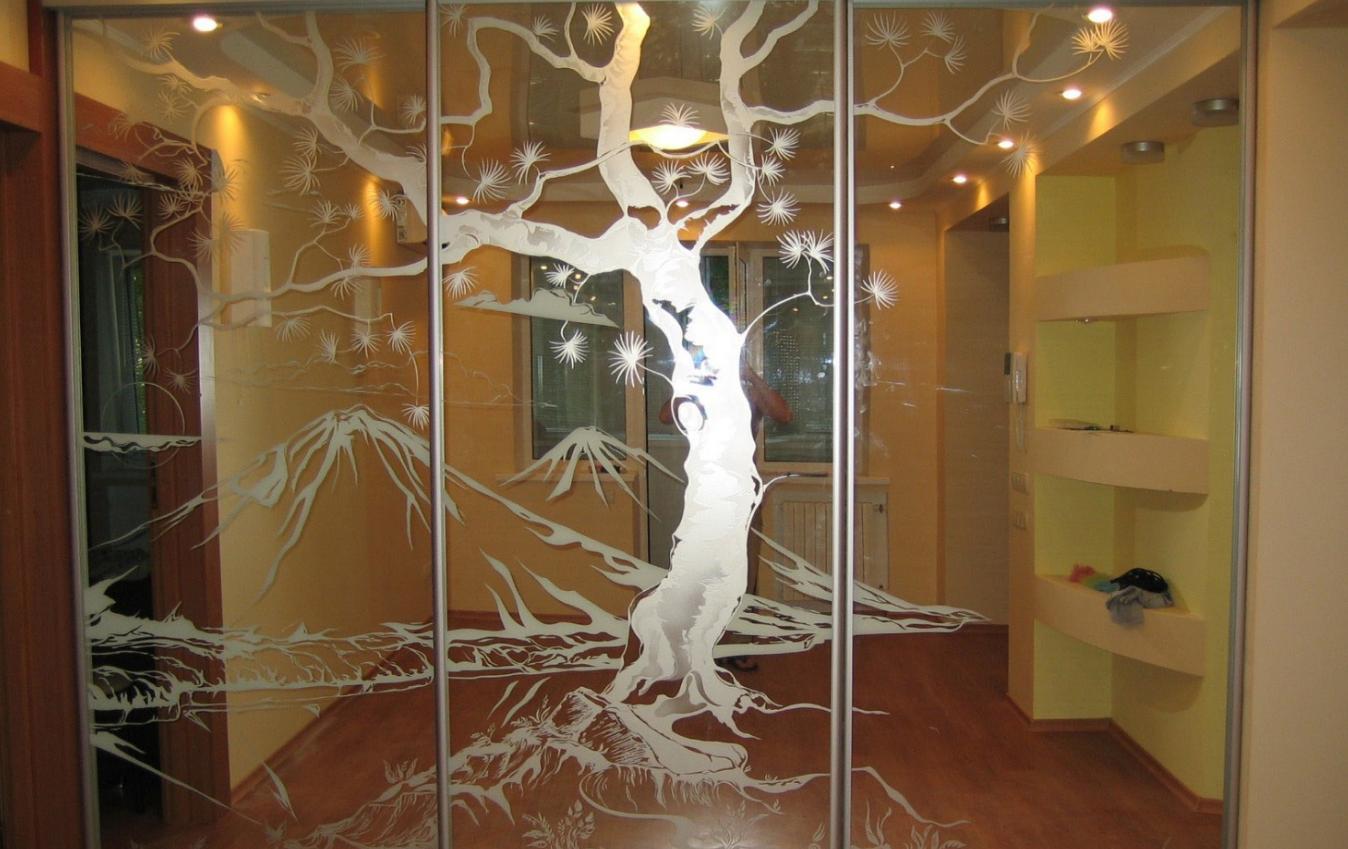 Бизнес-идея матирования стекол и зеркал