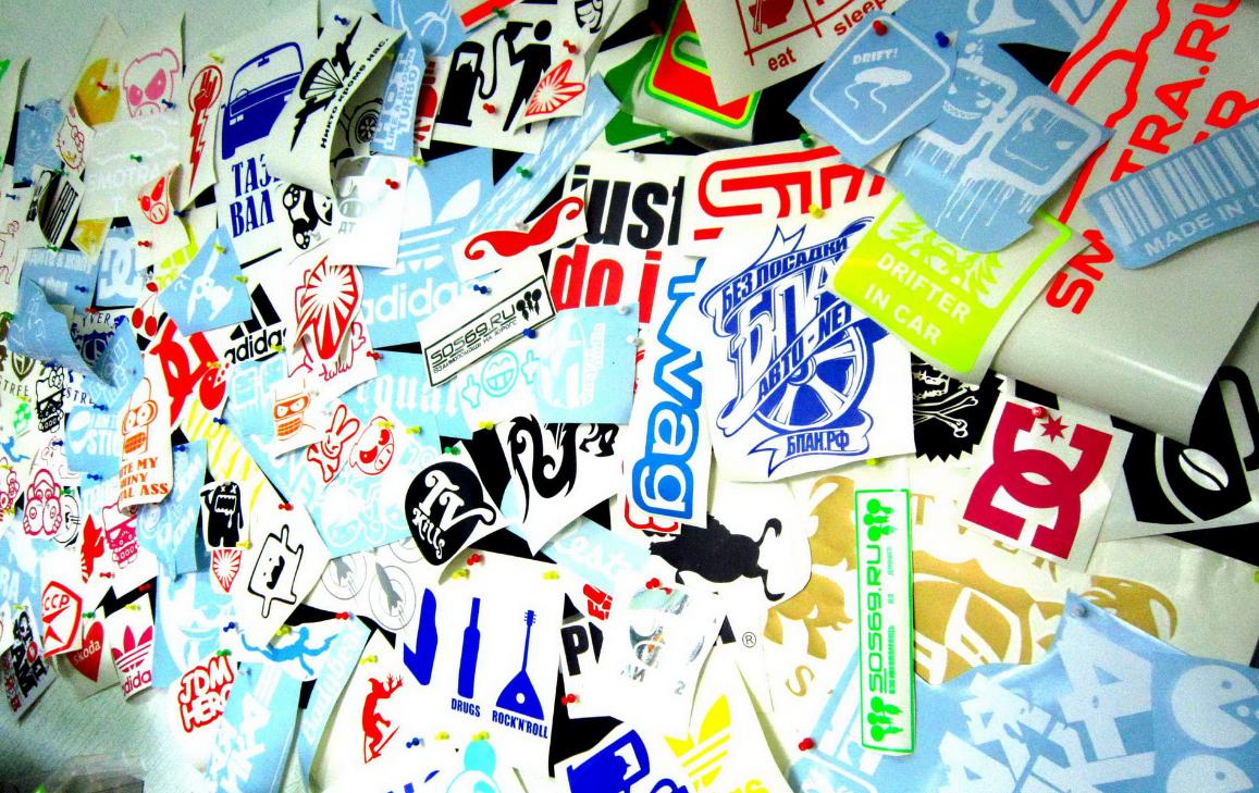 Бизнес-идея изготовления рекламных наклеек