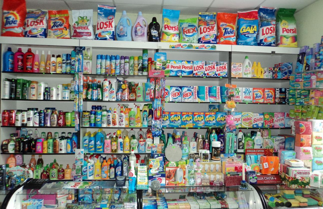 Бизнес-идея открытия магазина бытовой химии