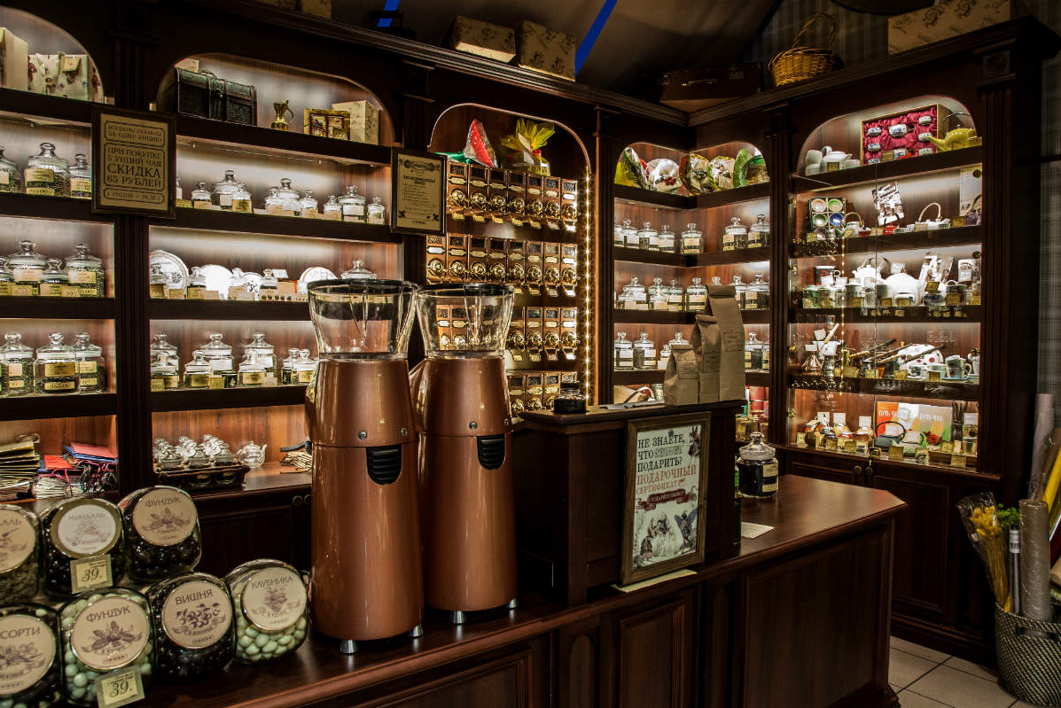 Бизнес-идея открытия магазина чая и кофе