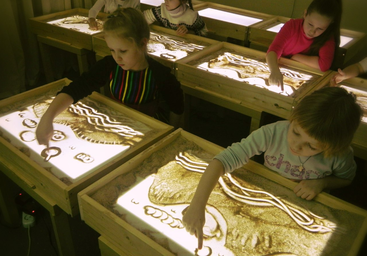 Бизнес-идея открытия студии рисования песком