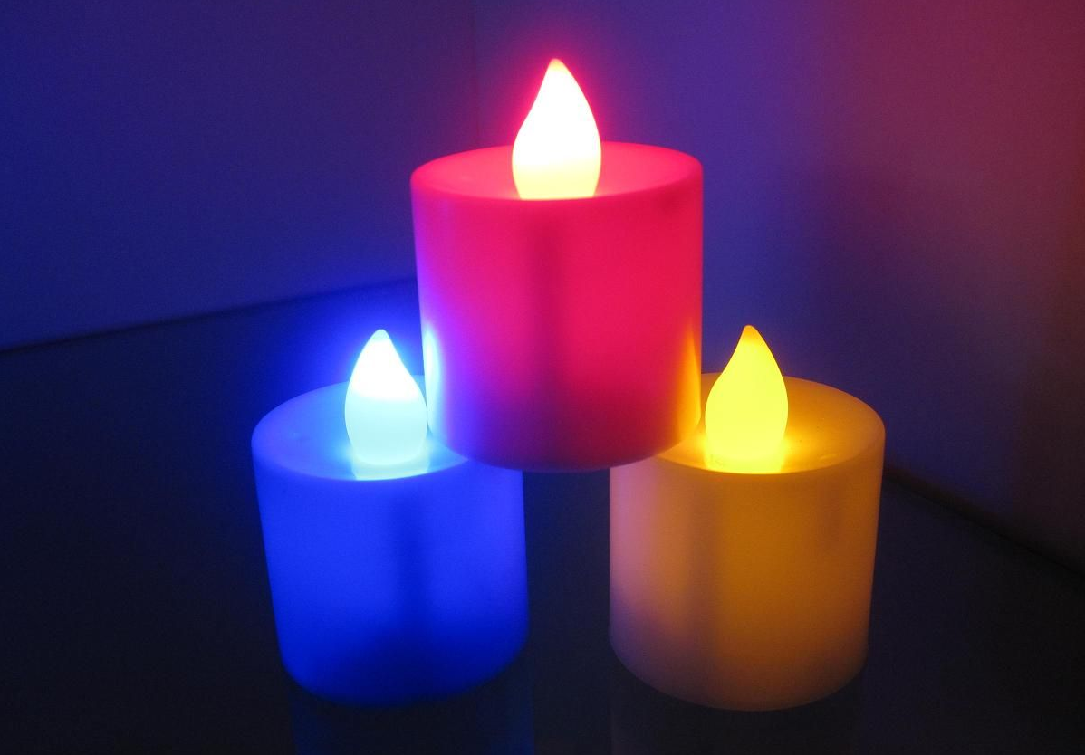 Бизнес-идея делаем свечи с разноцветным пламенем