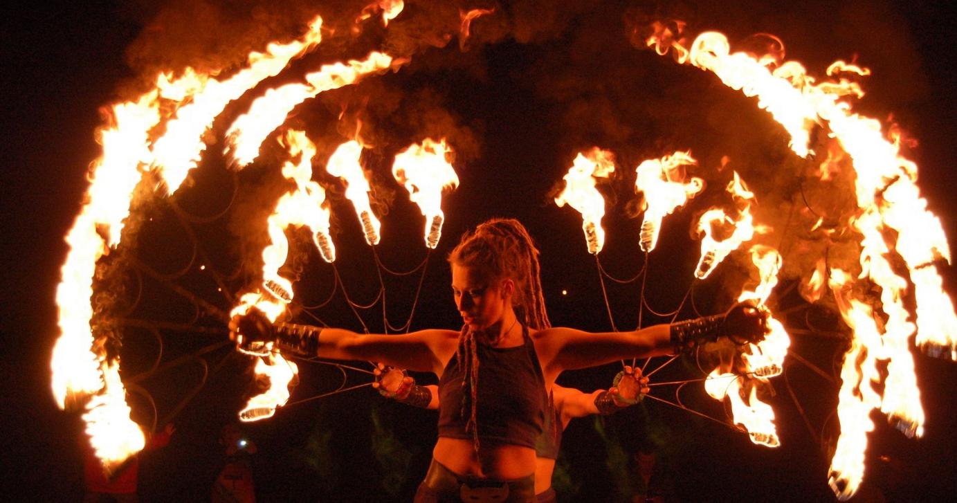 Бизнес-идея по проведению огненных шоу