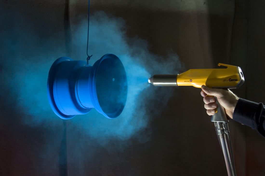 Бизнес-идея порошковой окраски металлических изделий