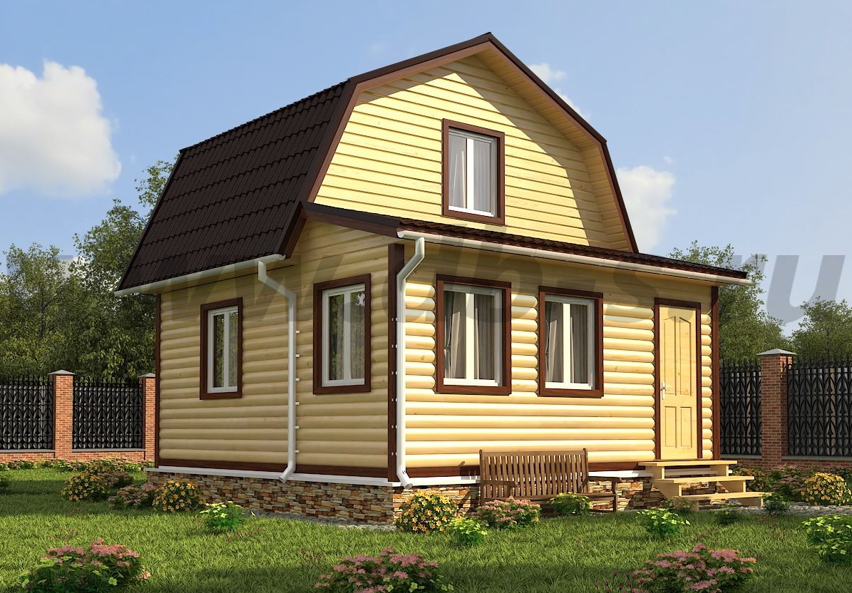 Бизнес-идея строительства каркасно-щитовых домов